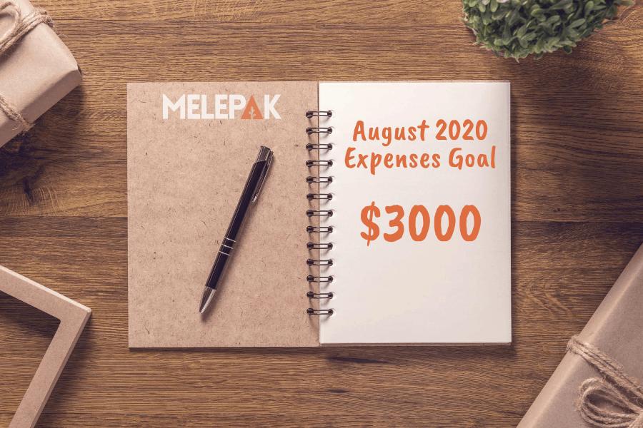August 2020 Goal