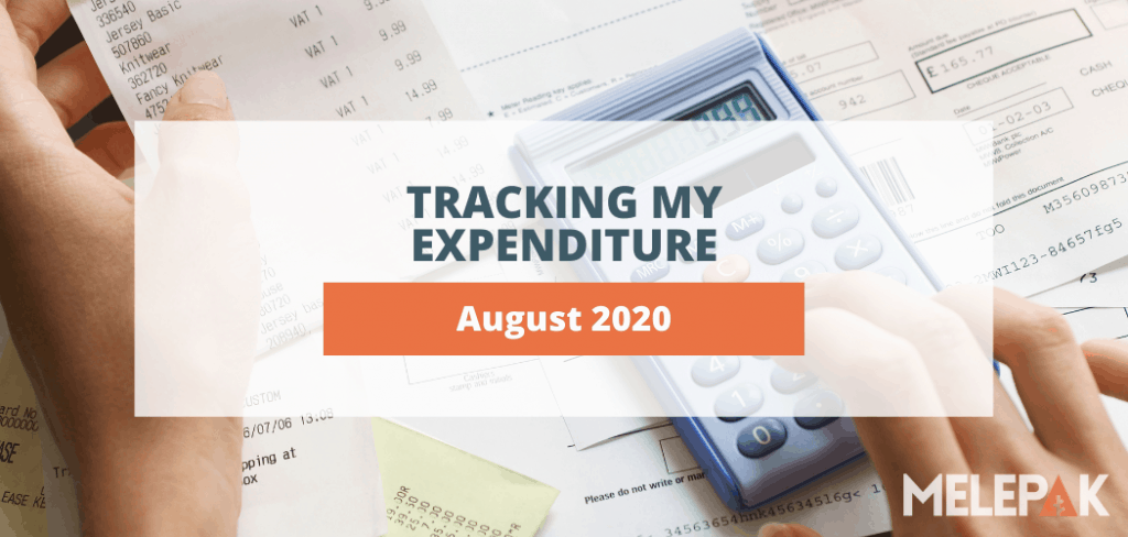 Track My Expenditure August 2020 Expenses